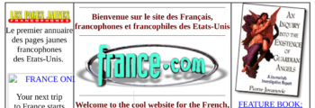 Launch of France.com's website